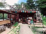 大分県竹田市「長湯ダム」近くにある「Gypsy's mile cafe&bar(ジプシースマイルカフェ&バー)」は犬とおでかけにオススメ!ボーダーコリーの看板犬も♪