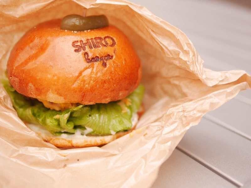 小さなハンバーガー専門店「SHIRO burger(シロバーガー)」